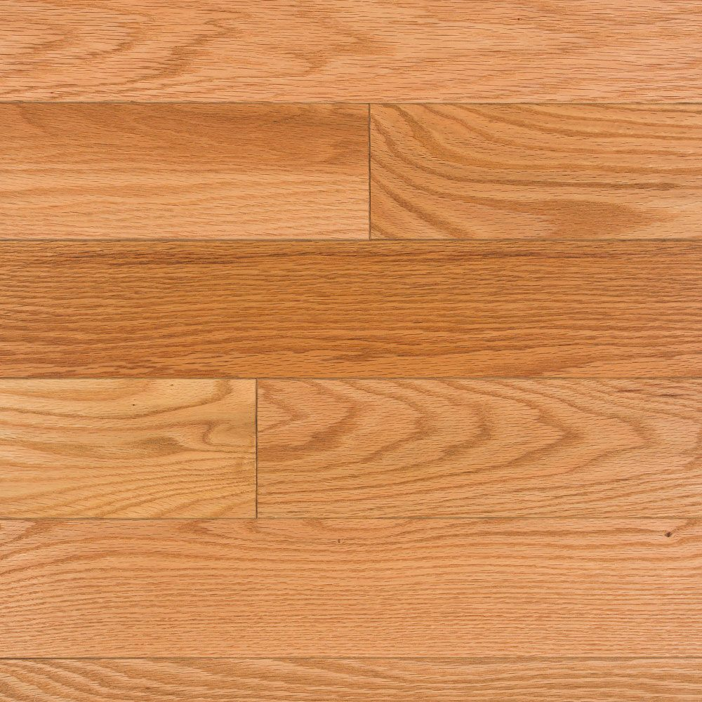 Northern Red Oak Natural Oil Finish